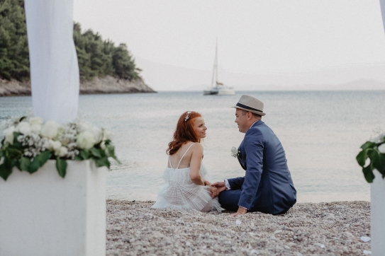lighthouse wedding korcula, outdoor wedding croatia, outdoor wedding korcula, croatia outdoor wedding venue